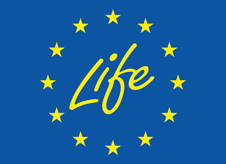 This project is financed by the LIFE Programme 2014-2020 of the European Union for the Environment and Climate Action under the project number LIFE18/CCM/ES/001114