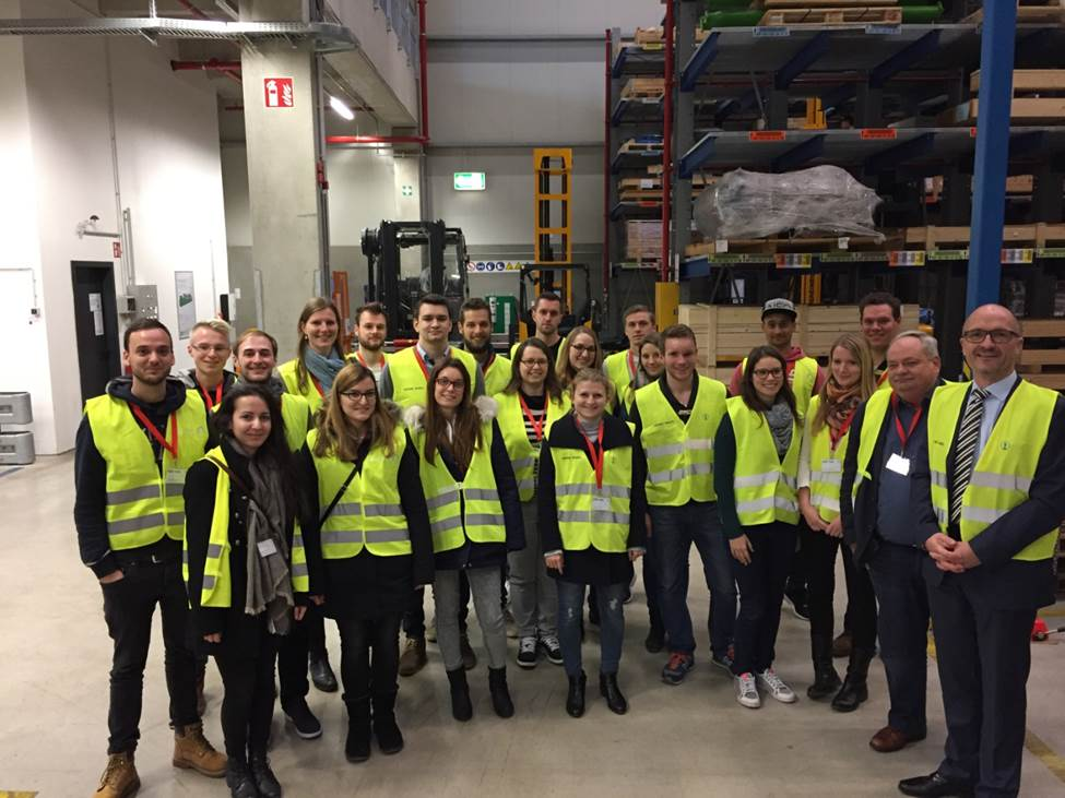 BW-Masterstudiengang Besucht Im Rahmen Einer Exkursion Den Logistikdienstleister Ku00fchne U0026 Nagel ...