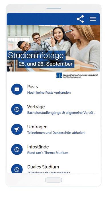Studieninformationstage An Der Th Nürnberg Technische Hochschule